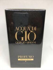 Giorgio Armani Acqua di Gio Profumo Special Blend Spray 75ml 2.5 oz Parfum SEALE