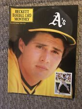 Beckett Baseball Card Monthly Price Guide - October, 1990 - JOSE CANSECO