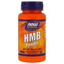 Now Foods - SPORTS HMB POWDER 90 g - BCAA Leucine Muscle Building Protein VEGAN