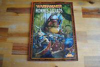 Livre WARHAMMER HOMMES-LEZARDS (Version Française)