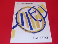 [Coll. R-JEAN MOULIN ART XXe] TAL COAT / AFFICHE MAEGHT 1956 LITHOGRAPHIE TBE