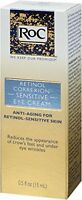 RoC Retinol Correxion Sensitive Eye Cream, 0.5 Ounce / Free Worldwide Shipping