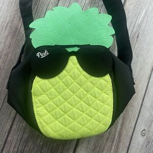 PINK Victoria's Secret Pineapple Sunglasses Insulated Lunch Cooler Beach Bag