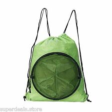 Volleyball Soccer Basketball Sport Backpack Bag - Lime Green
