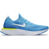 NIKE EPIC REACT FLYKNIT Running Trainers Gym Casual - UK Size 8 (EUR 42.5) Blue
