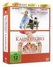 Lady Henderson präsentiert / Kalender Girls - 2 DVDs - NEU/OVP - Helen Mirren