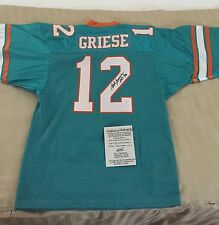 Bob Griese Autographed Signed Miami Dolphins Jersey w/ COA
