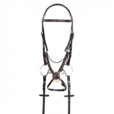 Ovation RCS Padded Figure 8 Jumper Bridle Recessed Crown w Rubber Reins COB NEW