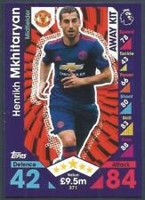 TOPPS MATCH ATTAX 2016-17- #371-MANCHESTER UNITED-HENRIKH MKHITARYAN-AWAY KIT