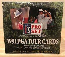 1991 PRO SET PGA TOUR GOLF CARDS FACTORY BOX SCELLÉ * PRIX RÉDUIT *
