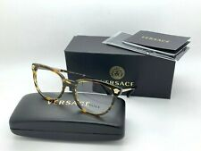Versace Women's Tortoise eyeglasses metal plastic MOD 3242 5202 54-18-140MM NIB