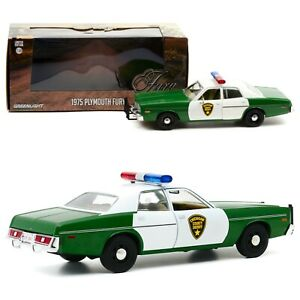 1/24 Greenlight Plymouth Fury Chickasaw County Sherif 1975 Livraison Domicile
