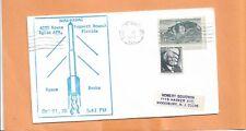 SPACE PROBE LAUNCH NIKE - HYDAC OCT 22,1970 EGLIN AFB FL SPACE COVER