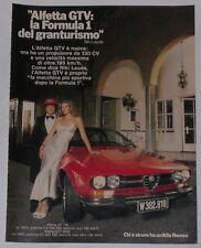 Advert Pubblicità 1979 ALFA ROMEO ALFETTA GT 1.6 / ALFETTA GTV6 2.0 / NIKI LAUDA