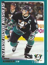 Paul Kariya 2003/04 Topps NHL Hockey Card #292 Mighty Ducks Lot Of 44 Cards Rare