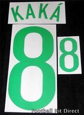 Brasil Kaka 2008 Camiseta De Fútbol Nombre/Número Conjunto de Fútbol Home Kit