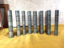 BERGIER - DICTIONNAIRE DE THÉOLOGIE - LIVRE ANCIEN RARE - 8 VOLUMES RELIES