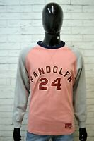 FRANKLIN & MARSHALL Maglia Uomo Size L Maglietta Shirt T-Shirt Polo Cotone Rosa