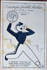 VERONA Calzaturificio Fratelli Martini scarpe advertising - stile Futurismo