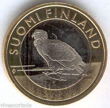 5 Euro Finlandia 2014 Eagle Bianca @@ Novità @@ Bimetallica @@ Nº 28 @@