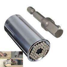 7-19mm Gator Grip Universal Socket Wrench Power Drill Adapter 2 Piece Set