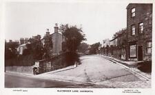 Slaymaker Lane Oakworth Keighley unused RP old pc Lilywhite