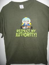 South Park Eric Cartman Respect My Authority  Adult Medium T-Shirt