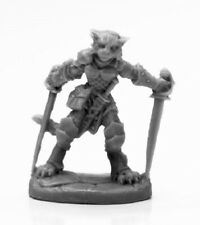 Reaper Bones Black 44118 Shadoweyes, Catfolk Rogue