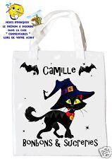 sac à bonbons halloween shopping  sac à cadeaux  réf 18