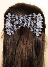 Magic Blue Flower Double Comb Stretchy Easy Hair Syling Clip New Spring Offer