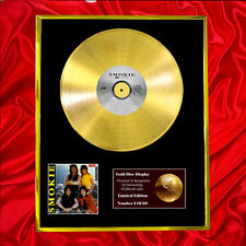 SMOKIE THE COLLECTION CD GOLD DISC FREE P+P!