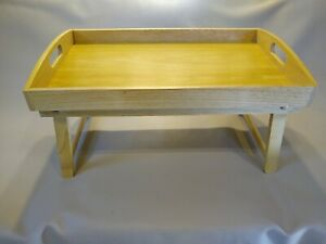 Breakfast In Bed Tray Table And/Or Portable Desk Top - NICE!