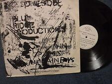 """BLUE RIDGE PRODUCTIONS Present"" 12"" EP in Pic Slv - Blue Ridge Records BLUE001"
