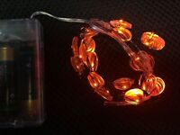 4M 40 LEDs Battery Operated Mini LED Copper Wire String Fairy Lights T*+