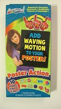 ArtSkills Poster Action 10-Shapes Figures Add-Waving Motion to your Posters NEW