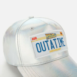 Back To The Future Limited Edition Iridescent Cap Exclusive 35th Anniversary