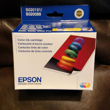 Epson Genuine Color - S020191 S02089 Ink Cartridge for Stylus 760 860 740 2011