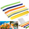 Reusable Glass Straw Wedding Birthday Party Drinking Straws w/Cleaning Brush Lot