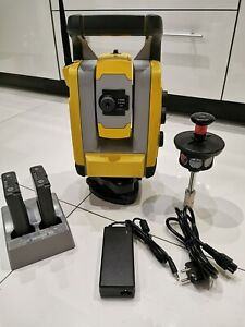 "Trimble SPS720 3""/2"" robotic Total Station with accessories, calibrated!"