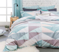 Bambury Ava 300TC Quilt Doona Cover Set - SINGLE DOUBLE QUEEN KING Super KING