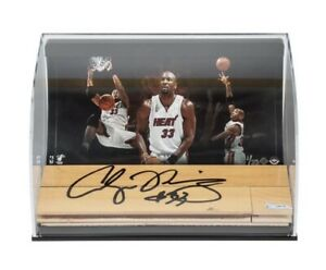 Alonzo Mourning Signed Autographed 3X10 Floor Piece Display Miami Heat #/33 UDA