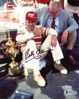 BOBBY ALLISON SIGNED AUTOGRAPHED 8x10 PHOTO NASCAR RACING LEGEND BECKETT BAS