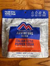 Bags Mountain House Italian Style Pepper Steak Freeze Dried 3.5oz X3