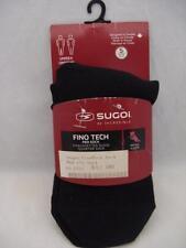SUGOi S1 FINO TECH PED SOCK Sz Small (M 5-8, W 4-7)  BLACK
