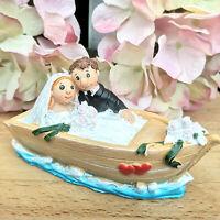 Brautpaar Boot Schiff Hochzeit Kreuzfahrt Reisekasse Figur Spardose Geldgeschenk