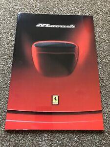 Ferrari 550 Maranello Factory Brochure 1150/97 with Original Protective Cover