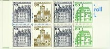 Allemagne Germany Architecture Chateaux Castels Schlosser ** 1979 Carnet 2 Marks