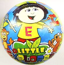 Little Explorer Doll PVC Plastic Football Play Beach Ball Kid Party Pool Girl BN
