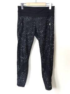 Lululemon Inspire II Tight Capri Pant STAR CRUSHED COAL Full On Luxtreme RARE 6