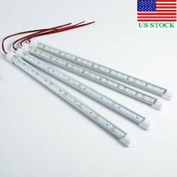 12V/24V 24/48LED Strip Light Tube Bar Hard Rigid Lamp For Car Caravan Home USA